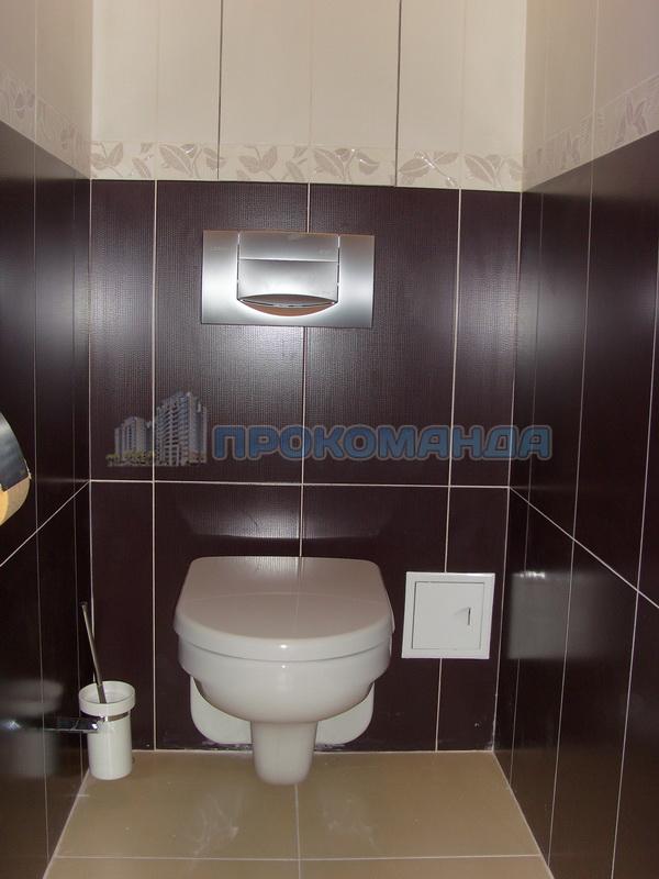 Укладка плитки в туалете своими руками фото