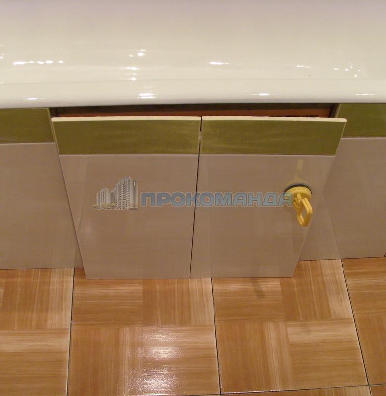 Экран для ванны на магнитах своими руками 36